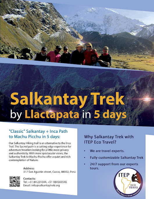 Salkantay Trek in 5 days by Llactapata