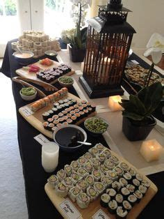 10 Bridal Shower Menu Ideas   Wedding, Sushi party and
