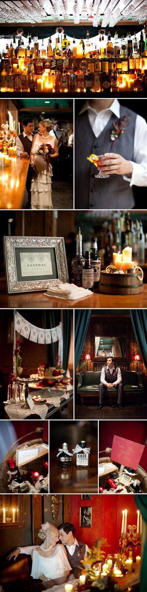 1920s Paris and New Orleans Wedding Inspiration   Wedding