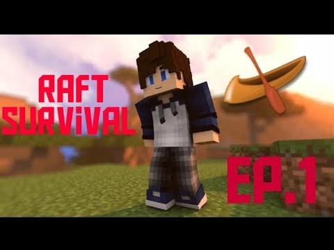 "MINECRAFT ""RAFT Survival"" Fishing EP.1"