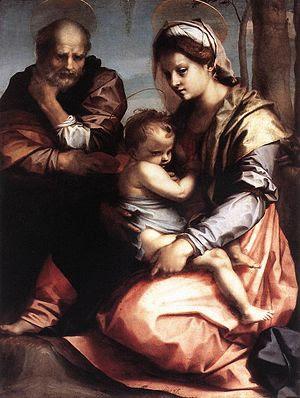 Sacra Famiglia Barberini