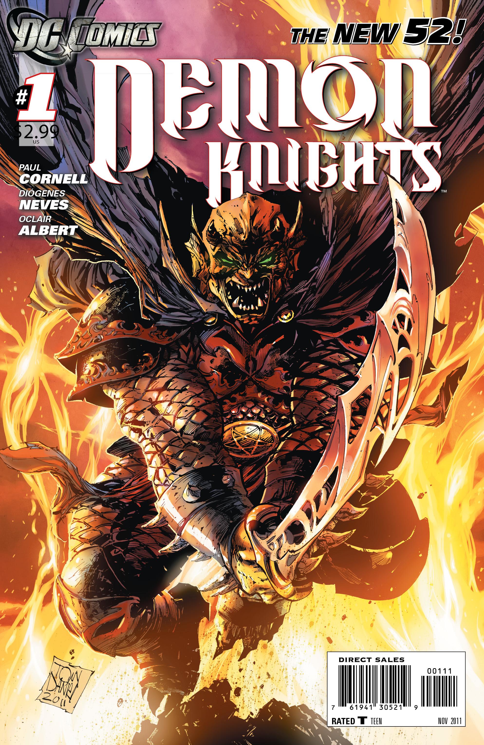 Resultado de imagem para Demon Knights Nº 1