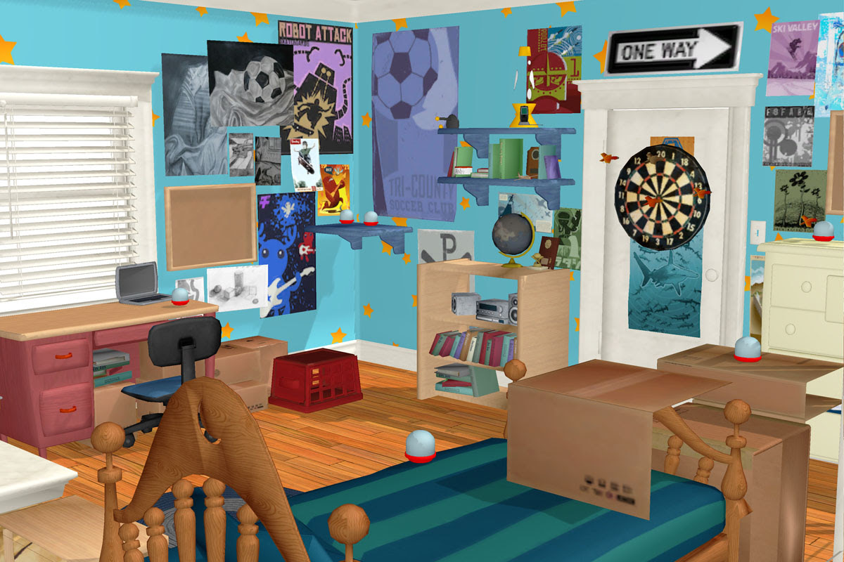 Toy Story 3 Andy's Room