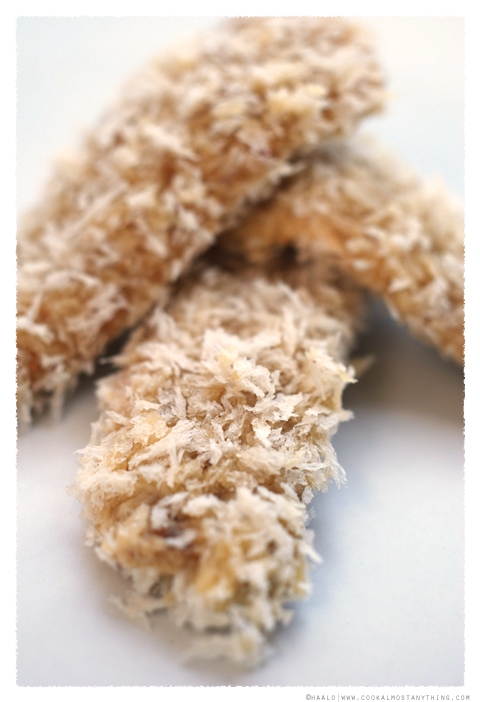 crumbed sardine fillets© by Haalo
