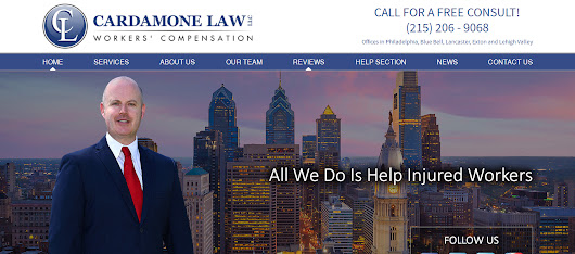 Pennsylvania Work Comp Law Firm Cardamone Law Has Offices in Lancaster, Exton, Blue Bell, Philadelphia, and Lehigh Valley - MY PHILLY