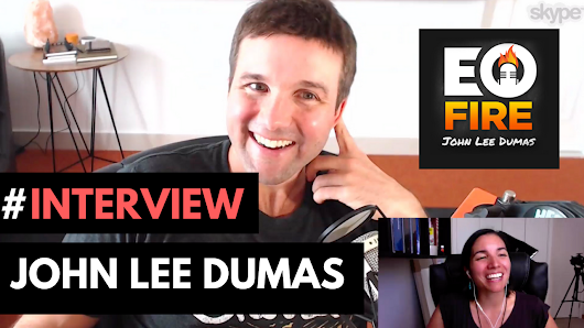 Interview On Fire! With John Lee Dumas