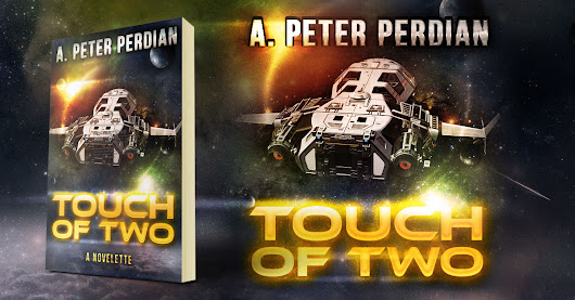 Showcase Spotlight: Touch of Two by A. Peter Perdian - Beetiful Custom and Predesigned (Premade) Book Covers