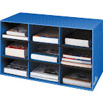 Bankers Box Fellowes 9-Shelf Storage Organizer, 16H x 28 3380701