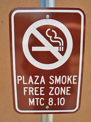 Mesilla Plaza - No Smoking