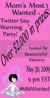 Moms Most Wanted Twitter Site Warming Party