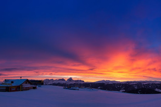 Top 10 Ski Resorts With Incredible Sunsets