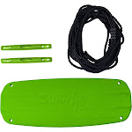 Flybar Swurfer Kick - Stand Up Outdoor Surfing Tree Swing - Green