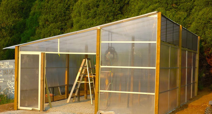 Polycarbonate Cold Frames Or Greenhouses Tuflite