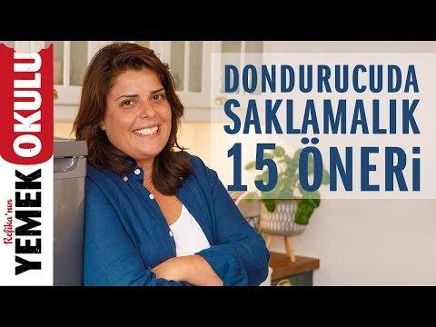 Derin Dondurucuda Hayat Kurtaracak 15 Yemek!