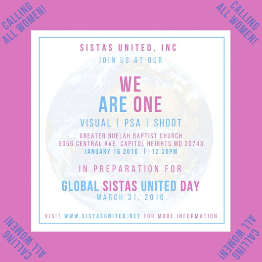 "Sistas around the world unite for ""Global Sistas United Day"" 