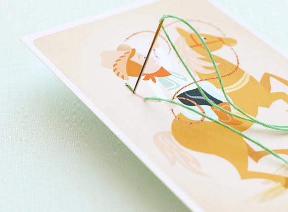 37. Карточки для обучения вышивке дети, поделки, своими руками, сделай сам, творчество