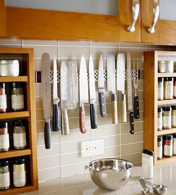 A-wall-mounted-knife-rack-for-small-kitchens