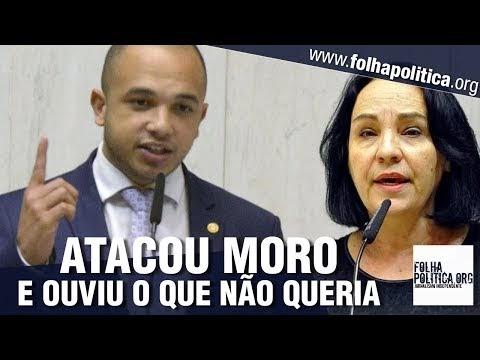 Deputada petista parte para o confronto contra Sergio Moro e jovem deputado do partido de Bolsonaro reage