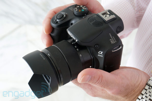 Sony Alpha A3000 handson video