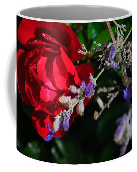 Red And Purple Coffee Mug