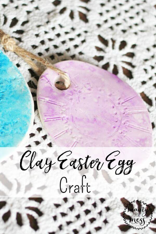 Clay Easter Egg Craft