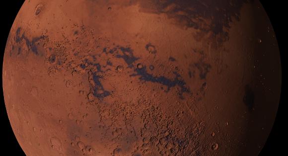 Superficie del planeta Marte. Foto: Kevin Gill.