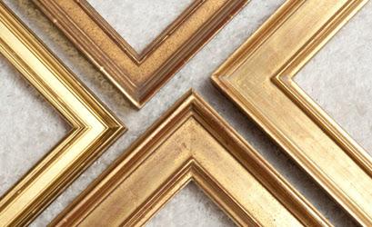 Gold Leaf Picture Frames Oliver Brothers Custom Framing