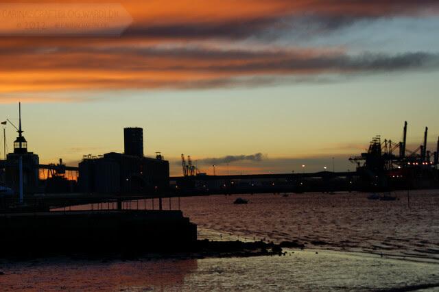 Sunrise, December 7, 2012 - 3