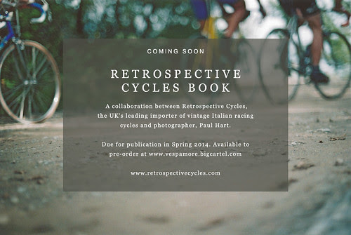 RETROSPECTIVE CYCLES book - coming soon by vespamore photography