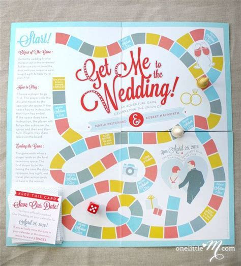 30 Interactive Wedding Invitations & Save the Dates   OneWed