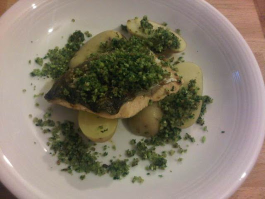 Grilled Loch Duart salmon with new potatoes and herb crumbs - Loch Duart Salmon