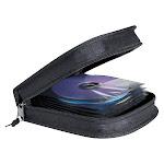 Staples 32-Disc CD holder - Black