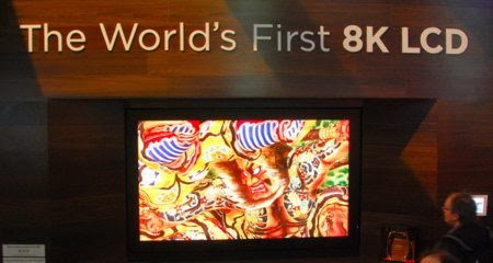 La primera TV 8K del mundo hará que tus ojos exploten debido a la alta resolución