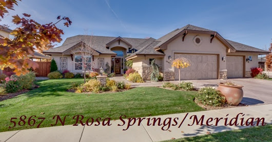 Masterful Custom Built - 5867 N Rosa Springs Ave, Meridian, ID 83646