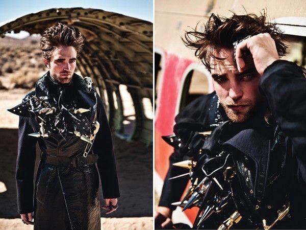 L'Uomo Vogue - November 2012, Robert Pattinson