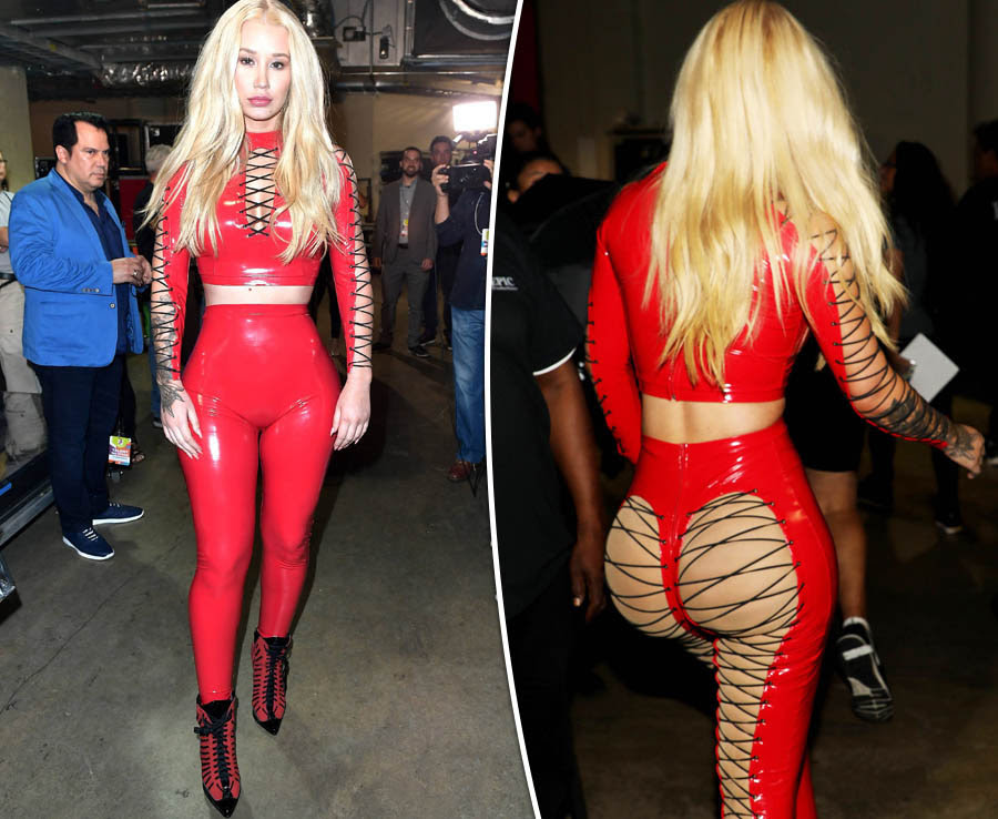 Iggy Azalea rocks in new outfit