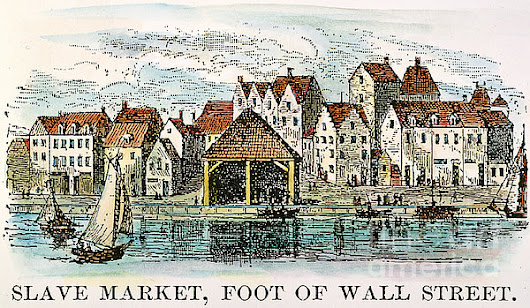 Postcard Thursday: Wall Street