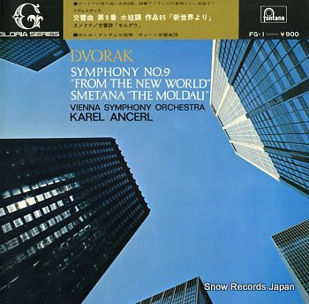 ANCERL, KAREL dvorak; symphony no.9 from the new world