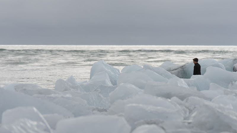Iceberg beach at Jokulsarlon