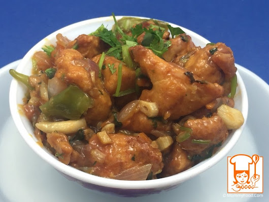 Chicken Manchurian - Step By Step Recipe With Photos | MommyFood.Com