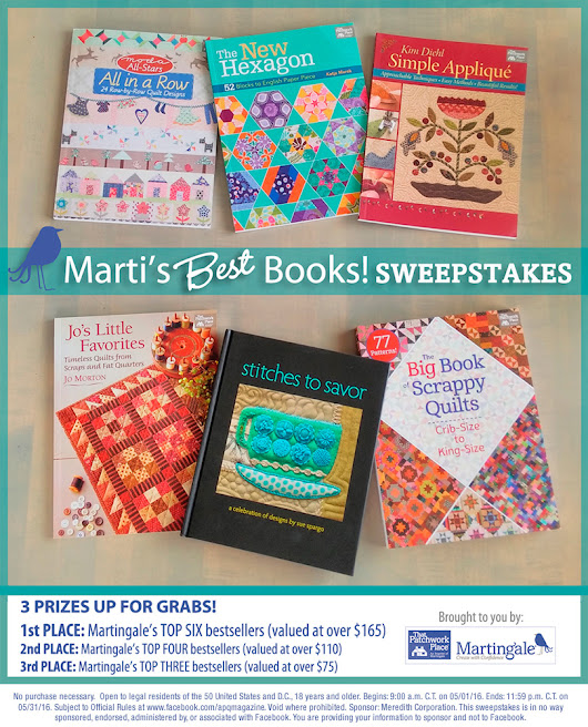 Marti's Best Books! Sweepstakes