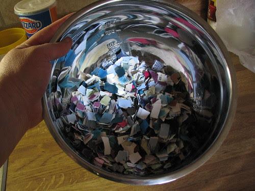 Recycling Paper Scraps 003