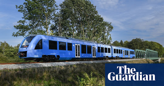 Germany launches world's first hydrogen-powered train | Environment | The Guardian