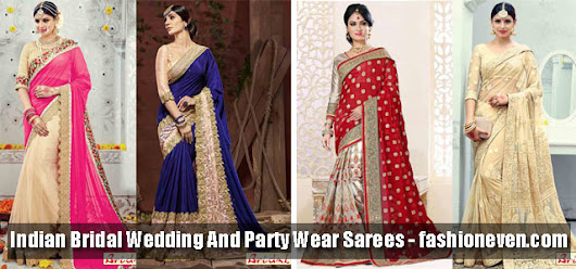 Best Indian Bridal Sarees 2017 New Saree Designs