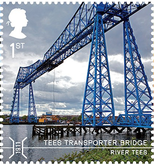 Tees Transporter Bridge, Middlesborough.