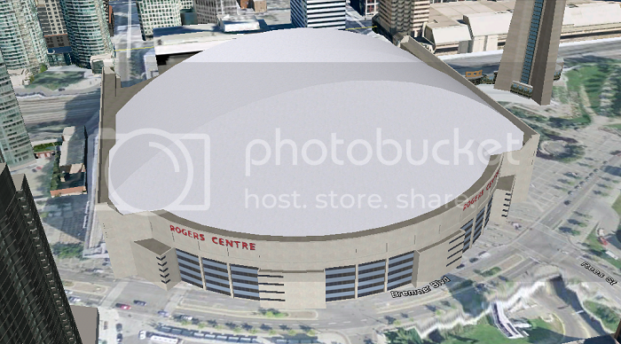 Rogers Centre (Toronto, ON); 3D model by Google 3D Warehouse
