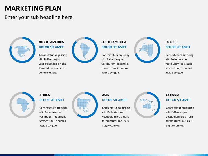 Marketing Plan PowerPoint Template  SketchBubble