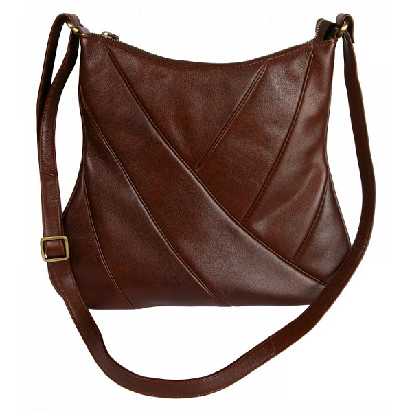 Mala Leather Premium Cross Body Shoulder Bag Handbag