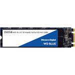 WD Blue 3D NAND SATA 250 GB Internal SSD - M.2 2280 - WDS250G2B0B - SATA 6Gb/s
