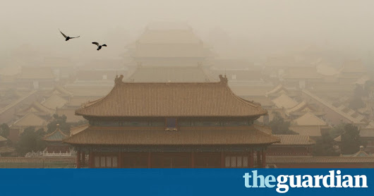 Beijing hit by new air pollution crisis as huge sandstorm blows in | World news | The Guardian